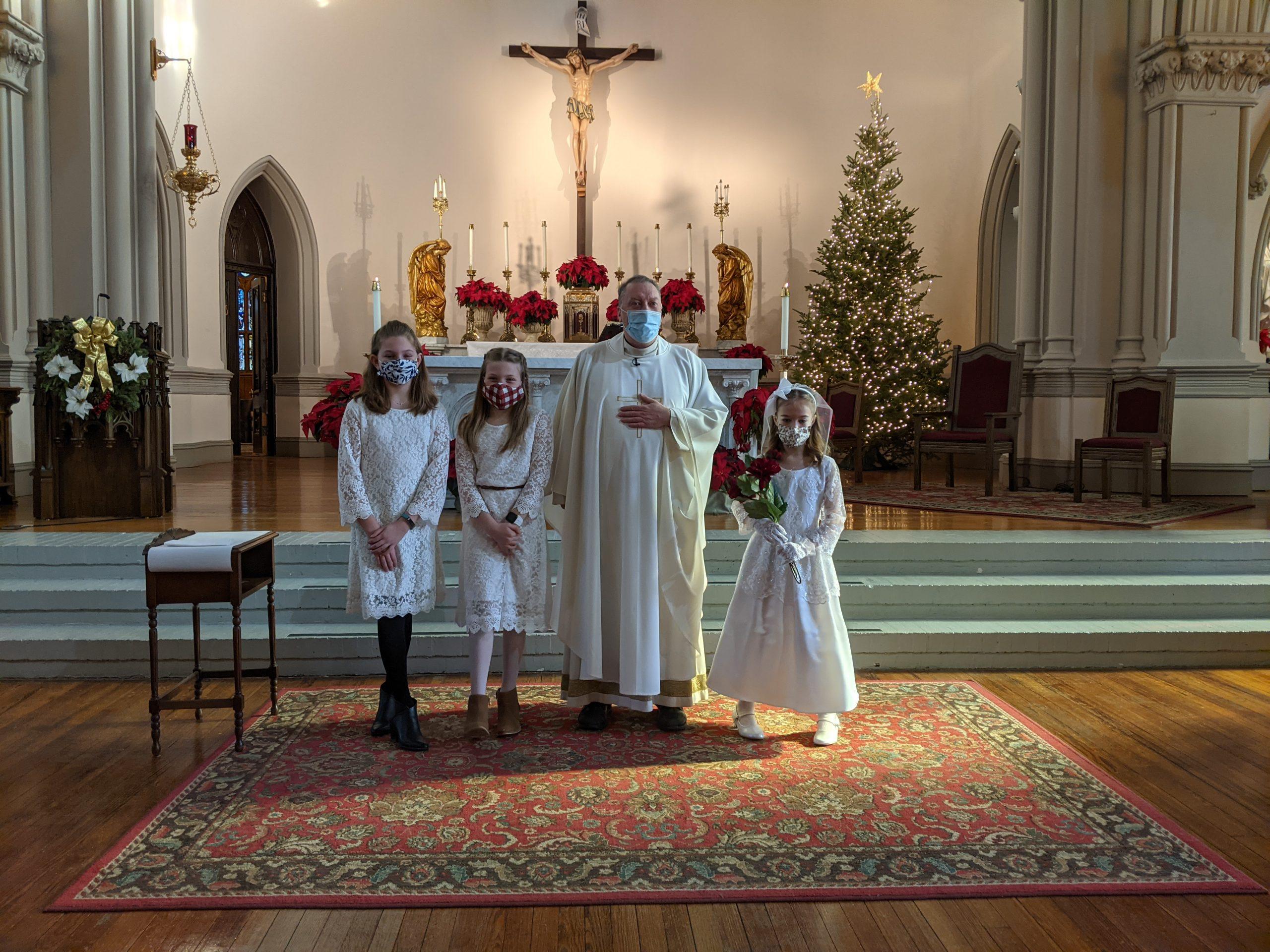 1st Holy Communion – December 27th