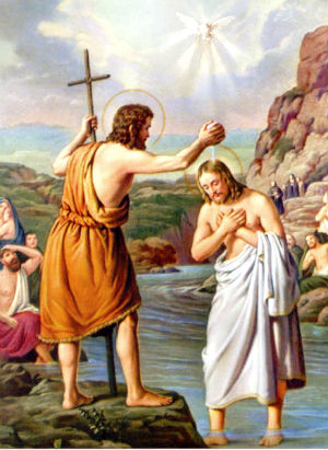 Baptism of the Lord and attack on our Capitol
